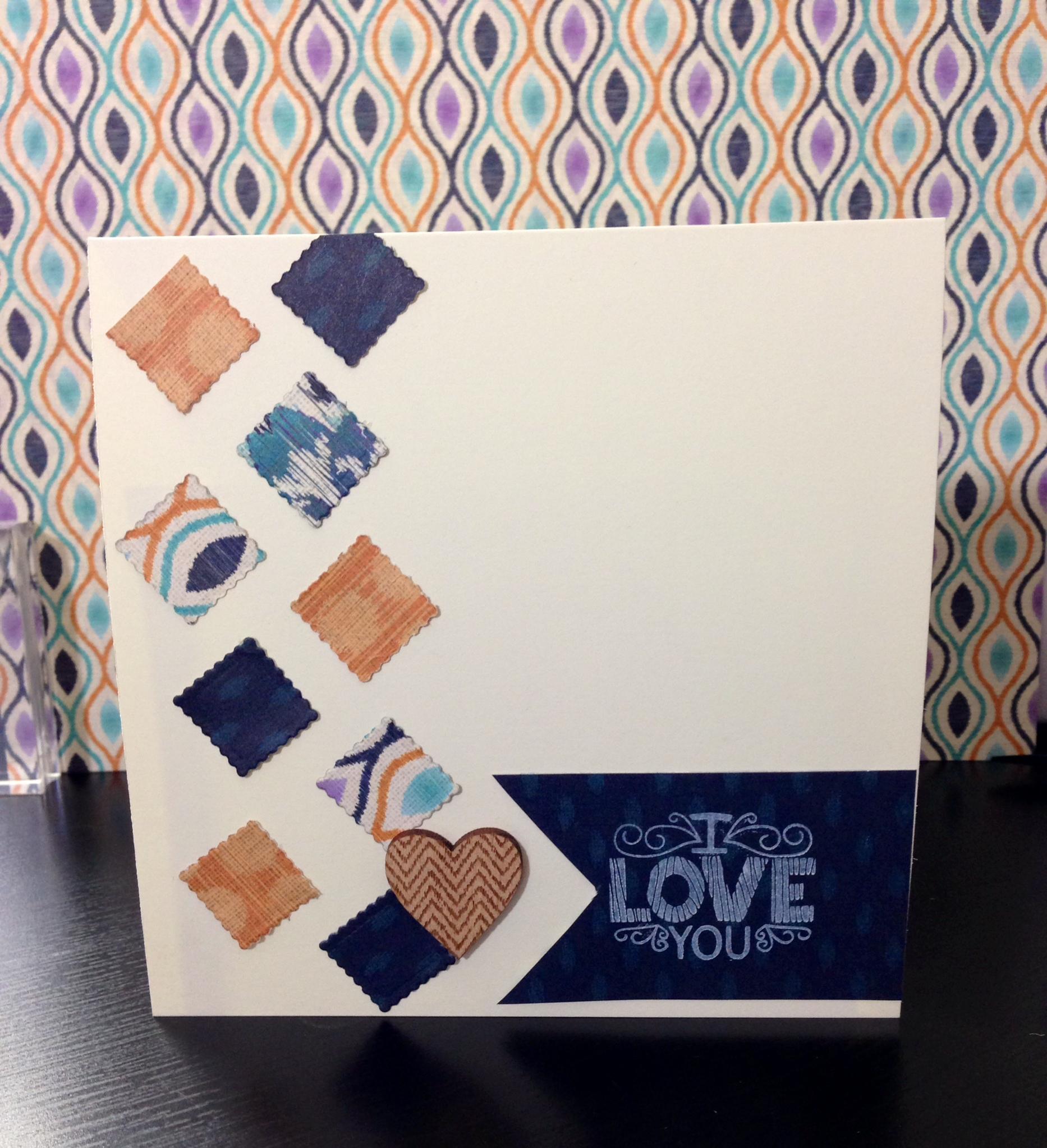 i love you handmade card tutorial megan elizabeth
